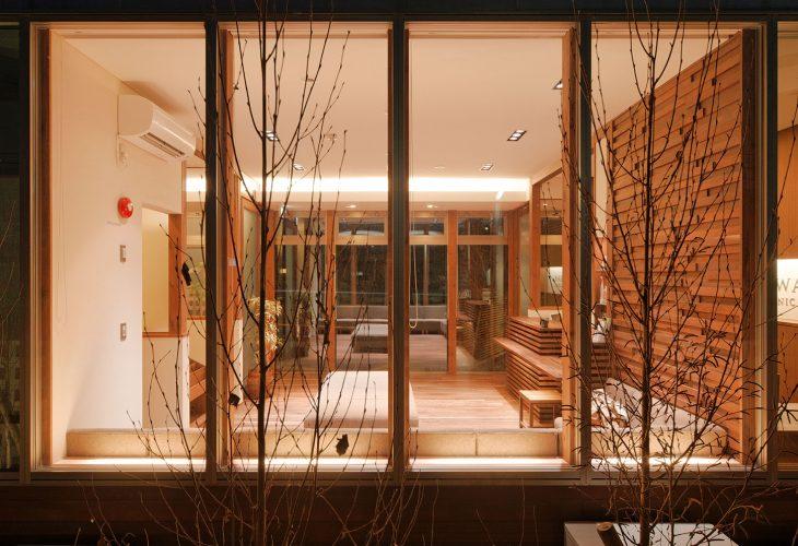 兵庫県の建築家で設計事務所が設計した明石市の津川歯科医院