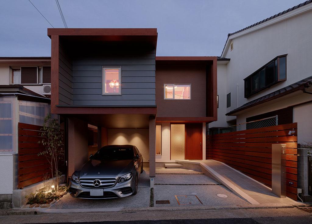 加古川の二世帯住宅