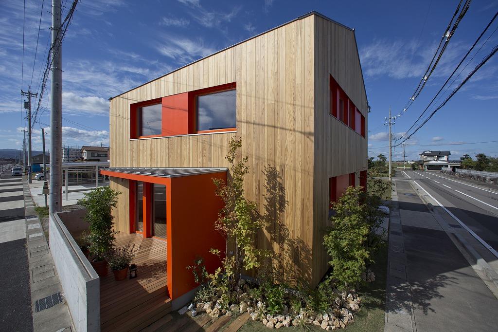 兵庫県の建築家で設計事務所が設計した福井県の高断熱住宅