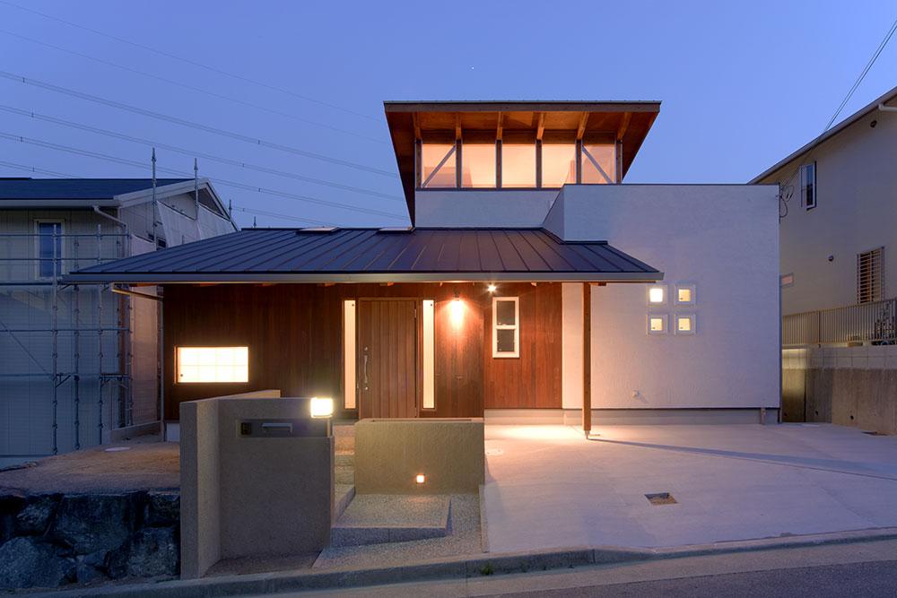 神戸市の注文住宅外観