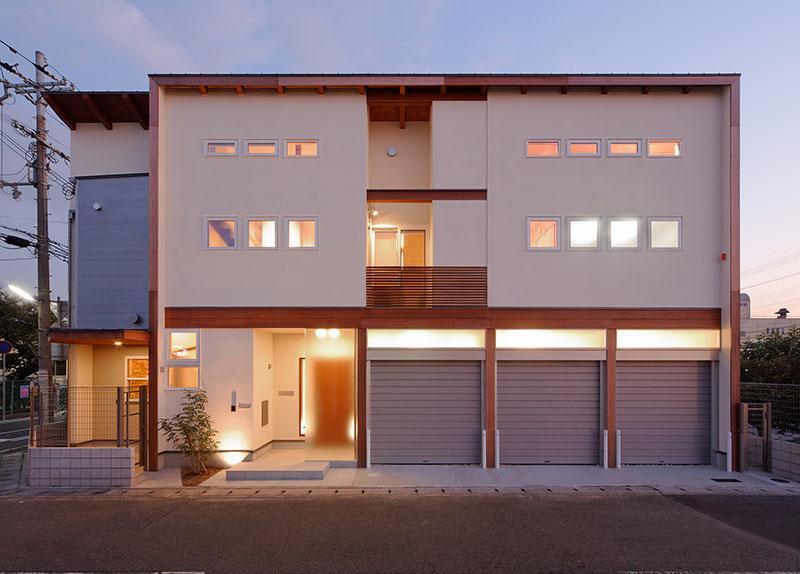 兵庫県の建築家で設計事務所が設計した姫路市の注文住宅