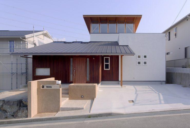 兵庫県の建築家で設計事務所が設計した猪名川町の注文住宅