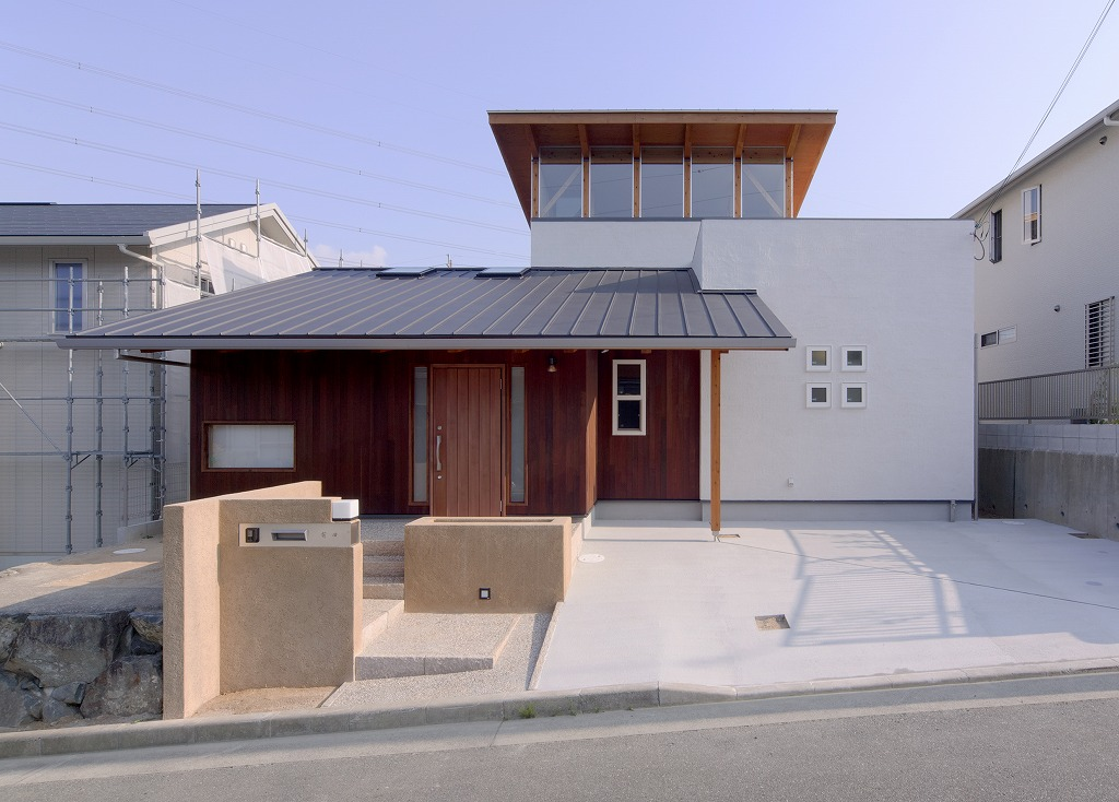 猪名川町の家