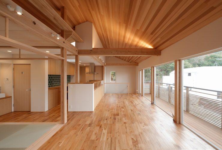 兵庫県の建築家で設計事務所が設計した箕面市の注文住宅