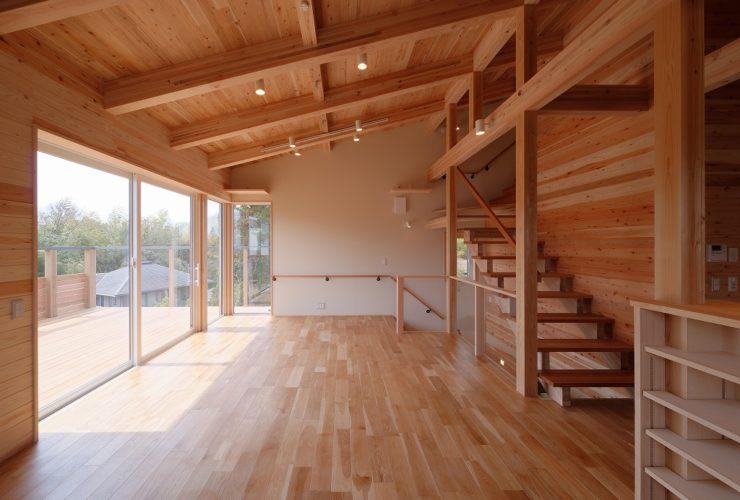 兵庫県の建築家で設計事務所が設計した姫路市白浜町の注文住宅