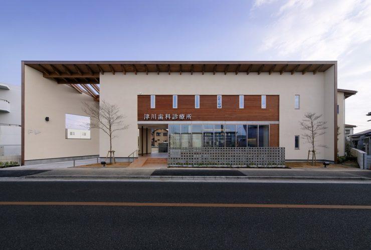 兵庫県の建築家で設計事務所が設計した明石市の津川歯科診療所