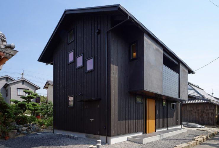兵庫県の建築家で設計事務所が設計した滋賀県栗東市の注文住宅