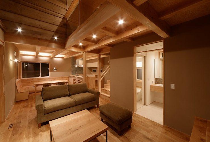 兵庫県の建築家で設計事務所が設計した加古郡播磨町の注文住宅