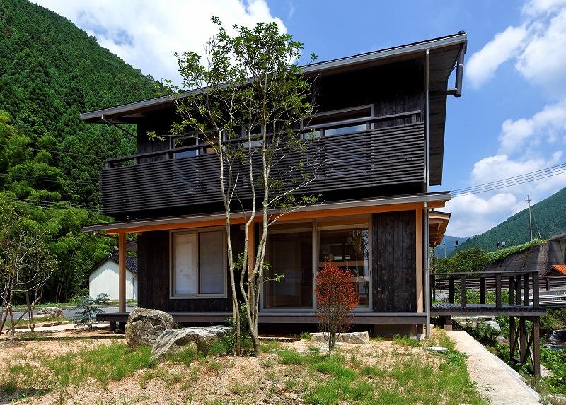 西粟倉村モデルハウス