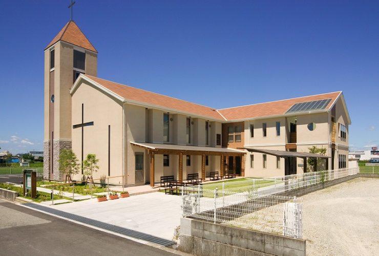 兵庫県の建築家で設計事務所が設計した加古川市のキリスト教会