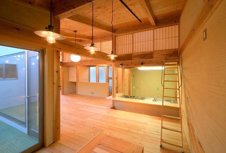 兵庫県の建築家で設計事務所が設計した尼崎市の注文住宅
