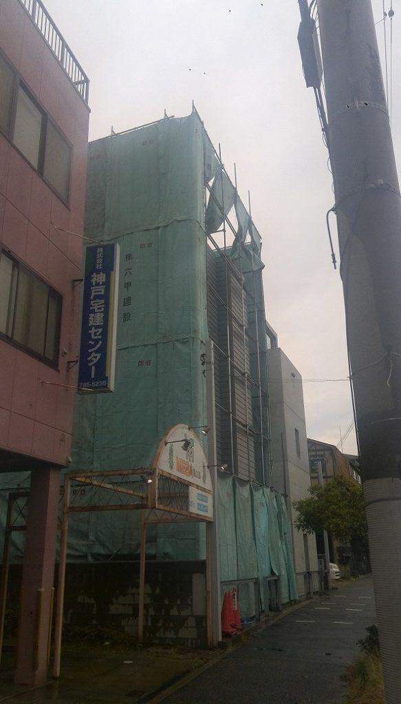 近所の安藤忠雄住宅がわずか9年で解体されています・・・