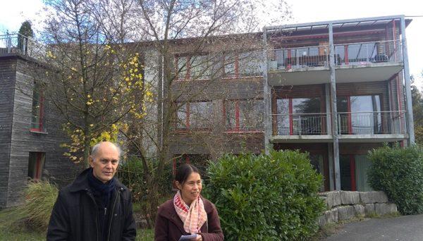 スイス1日目は滝川薫さんに案内していただきました!