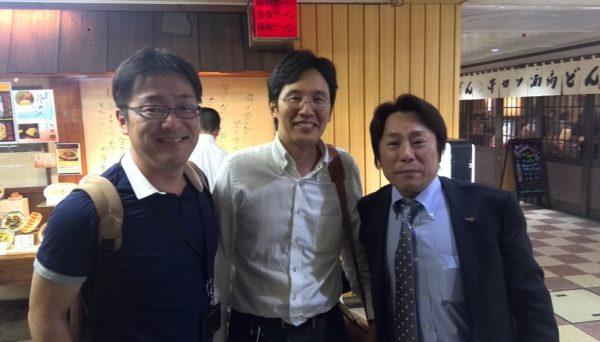 エネパス協会の早田さんの講演後、一緒に食事してきました。